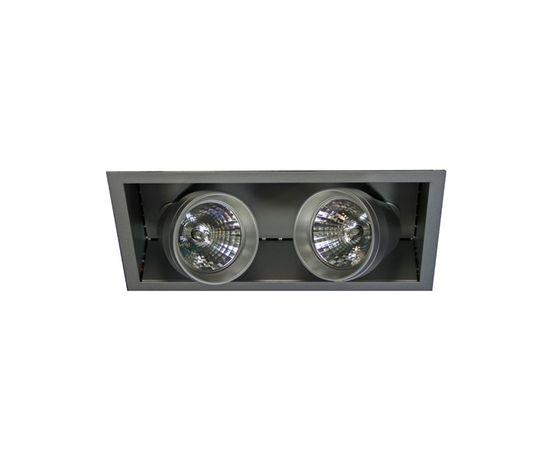 Встраиваемый металлогалогенный светильник Lival Figur Double, фото 1