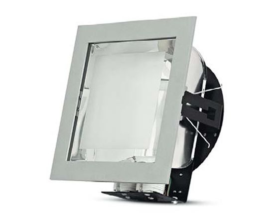 Встраиваемый светильник под компактную люминесцентную лампу Vivo Luce Presto 2x18 VL 0309, фото 1