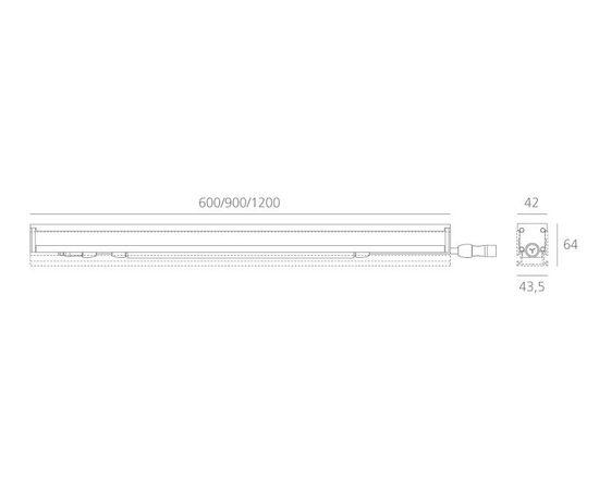 Встраиваемая система освещения Artemide Architectural Algoritmo Floor, фото 3
