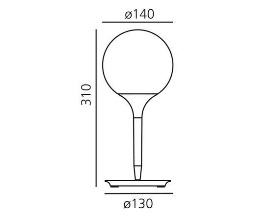 Настольная лампа Artemide Castore table 14, фото 2