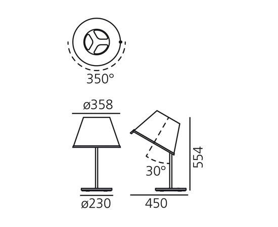 Настольная лампа Artemide Choose Table, фото 3