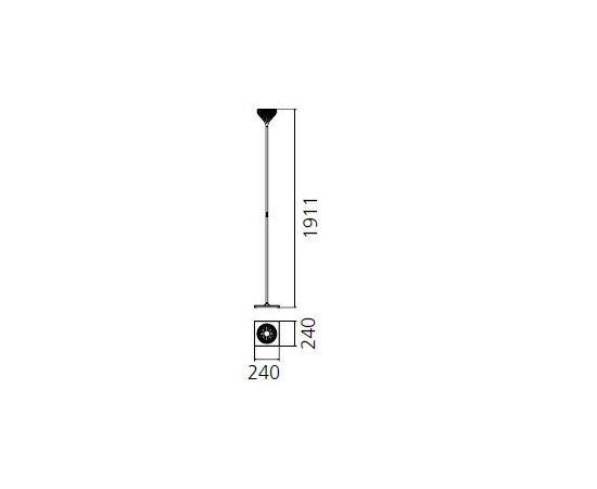 Напольный светильник Artemide Florensis Floor, фото 3