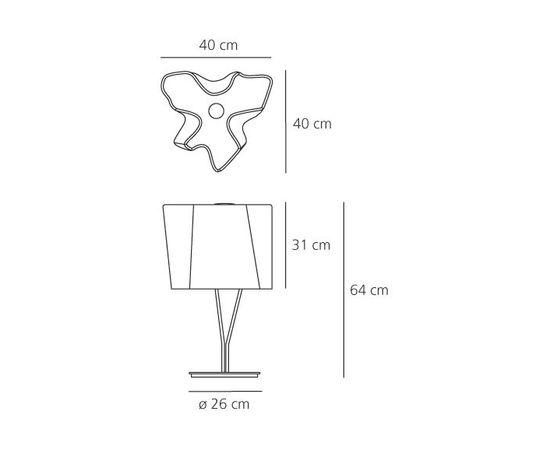 Настольная лампа Artemide Logico tavolo, фото 2