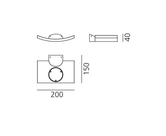 Настенный светильник Artemide Microsurf, фото 2