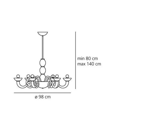 Люстра Artemide Pantalica Suspension, фото 2