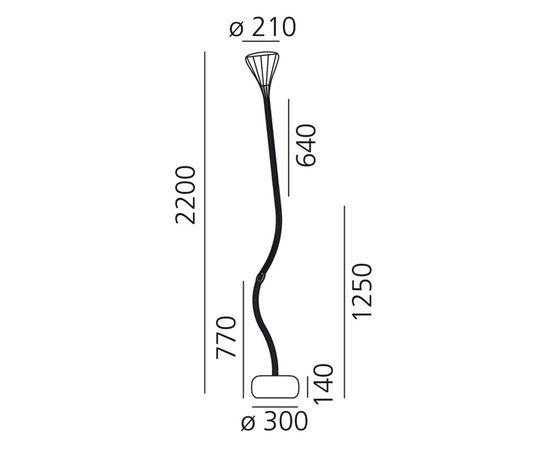 Напольный светильник Artemide Pipe Terra, фото 2