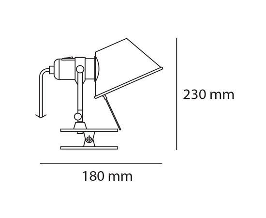 Настенный светильник Artemide Tolomeo Pinza, фото 2