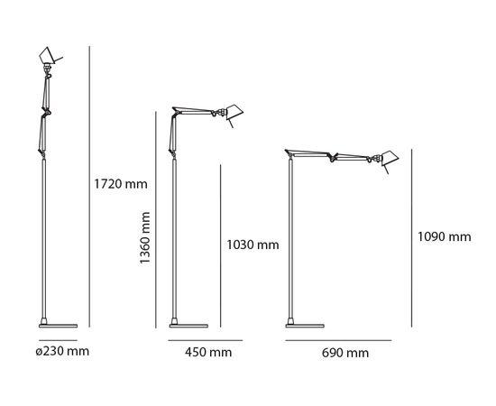Настенный светильник Artemide Tolomeo Micro Wall, фото 2