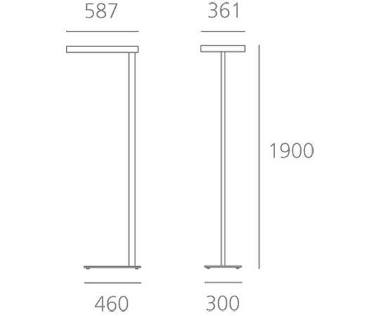 Напольный светильник Artemide Architectural Kalifa Floor Prismoptic I, фото 2