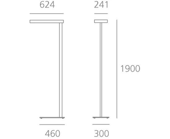Напольный светильник Artemide Architectural Kalifa Floor Prismoptic III, фото 3