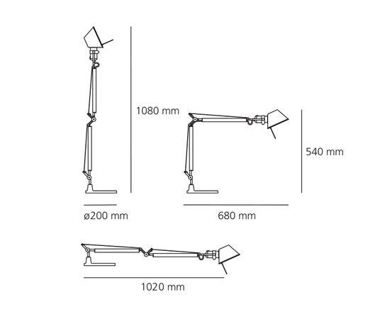 Настольная лампа Artemide Tolomeo Mini Table, фото 4