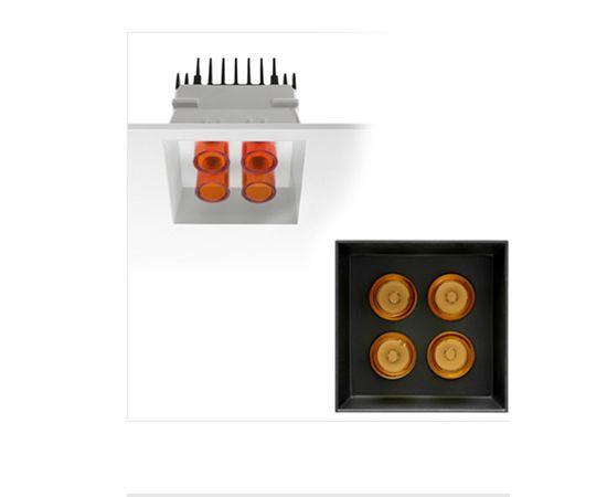 Встраиваемый в потолок светильник Flos Architectural LED Pipes, фото 1