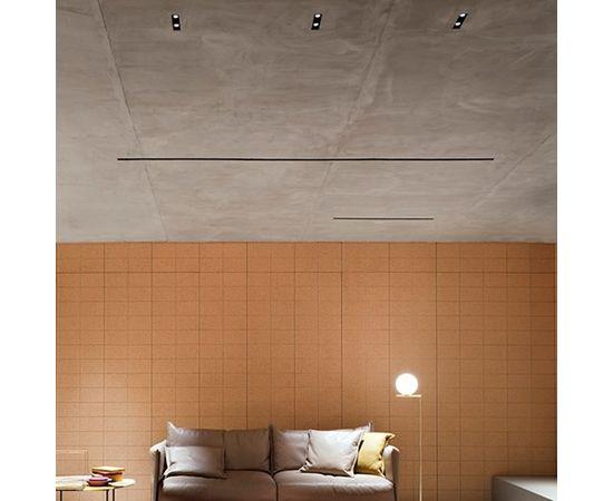 Встраиваемый в потолок светильник Flos Architectural The Black Line Trim 4 Spots, фото 2