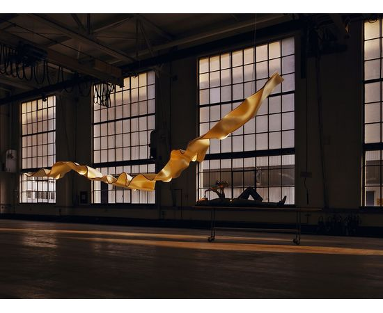 Подвесной светильник Ingo Maurer Golden Ribbon, фото 3