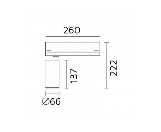 Трековый светильник Forma Lighting Gola Zero, фото 2
