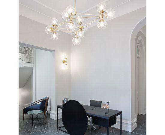 Подвесной светильник Roll & Hill Modo Chandelier - Diamond, 13 Globes, фото 3