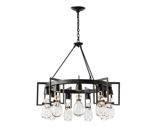 Люстра Hubbardton Forge Apothecary Circular Chandelier, фото 1