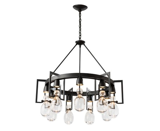 Люстра Hubbardton Forge Apothecary Circular Chandelier, фото 2