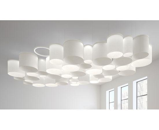 Подвесной светильник Artemide Ripple Cluster Light Engine + Light Diffuser, фото 2