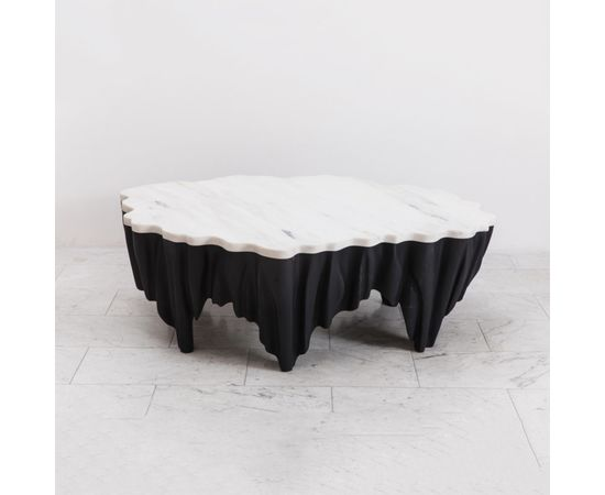 Журнальный столик Markus Haase Ash and Marble Aeolian Table, фото 1