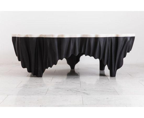 Журнальный столик Markus Haase Ash and Marble Aeolian Table, фото 2
