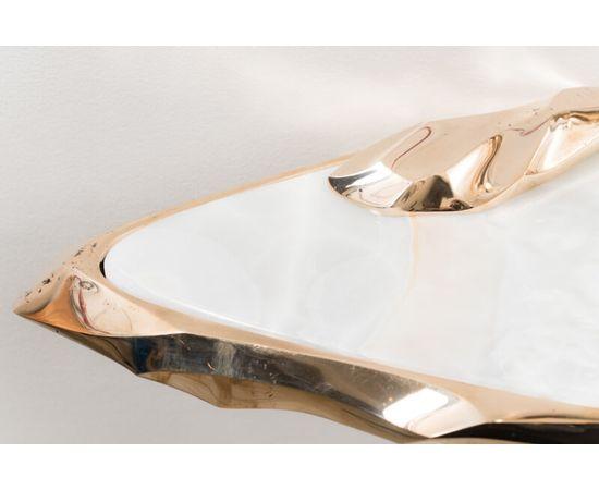 Консоль с зеркалом Markus Haase Bronze and Marble Console with Bronze Mirror, фото 3